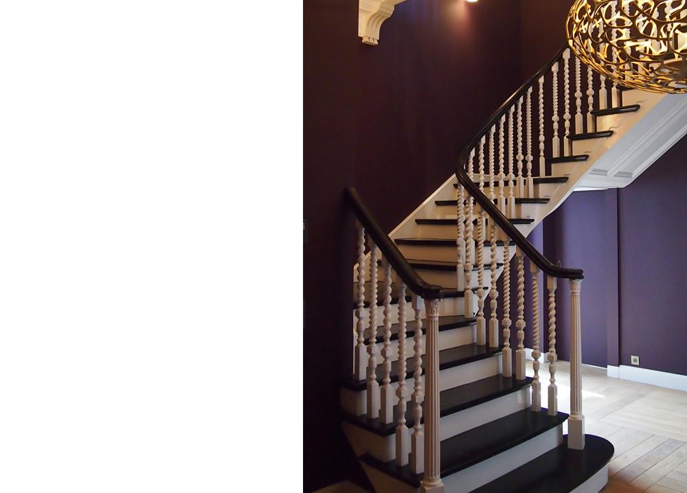 barbet de Jouy - escalier