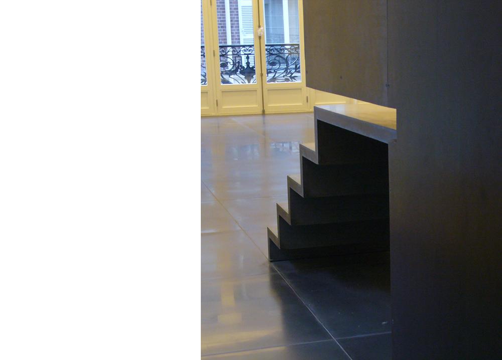 université - escalier